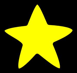 300x285 Star With Soft Edges Clip Art