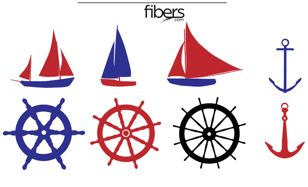 600x365 Free Nautical Vector Pack Clip Art Free, Clip Art And Scrapbooking