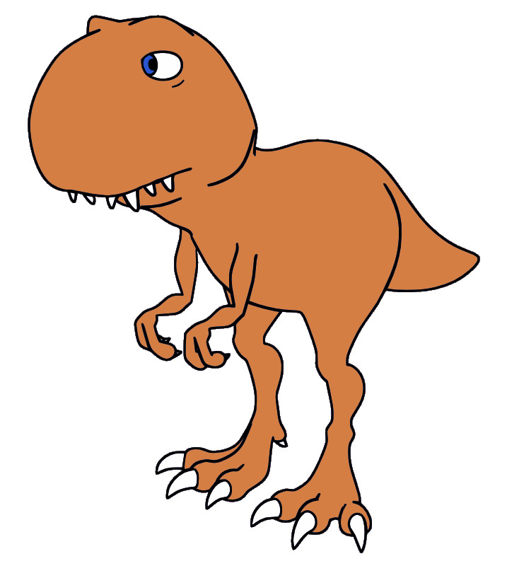 717x800 T Rex Clip Art Cute Tyrannosaurus Rex Dinosaur T Rex Vector Vector