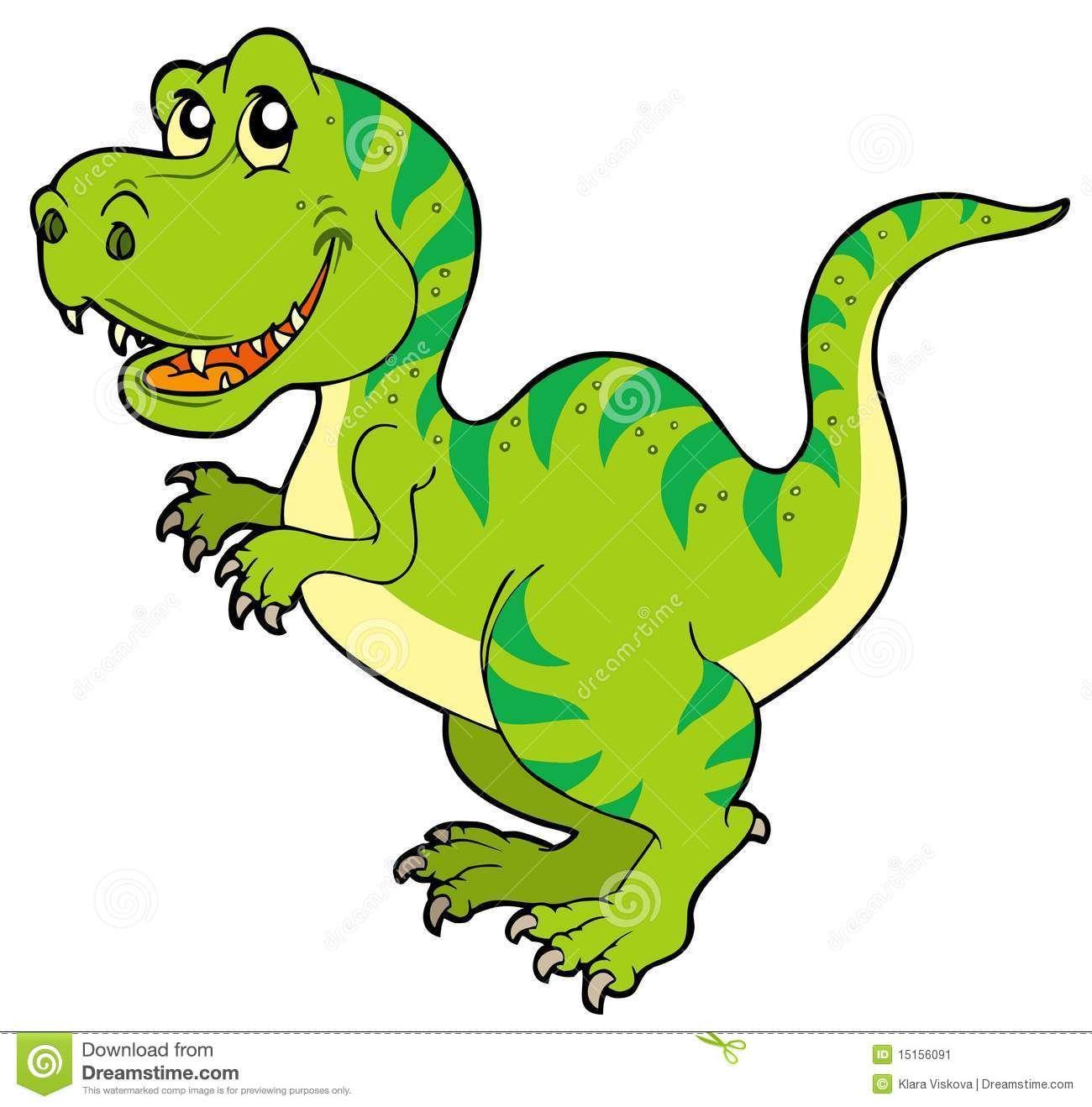 1300x1318 Cartoon Tyrannosaurus Rex Stock Image