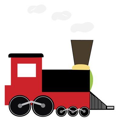 382x395 Beautiful Train Clip Art Free