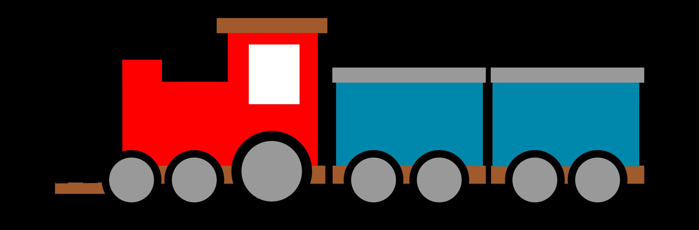 2400x790 Cartoon Trains Clipart