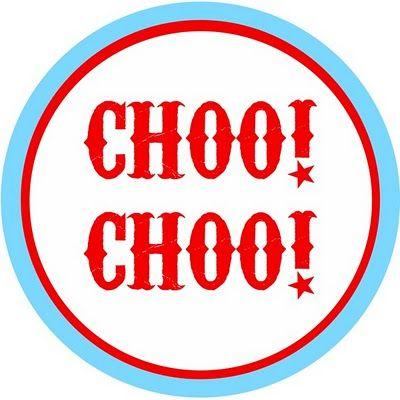 400x400 Choo! Choo! Free Train Party Printables + Ideas Party Ideas