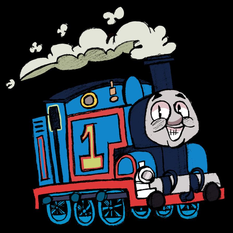 894x894 Clip Art Thomas The Tank Clip Art