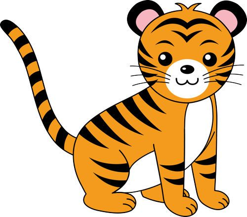 500x441 Tiger Clip Art Clipart Panda