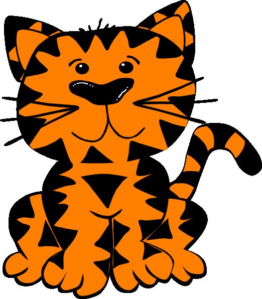 522x596 Tiger Clip Art