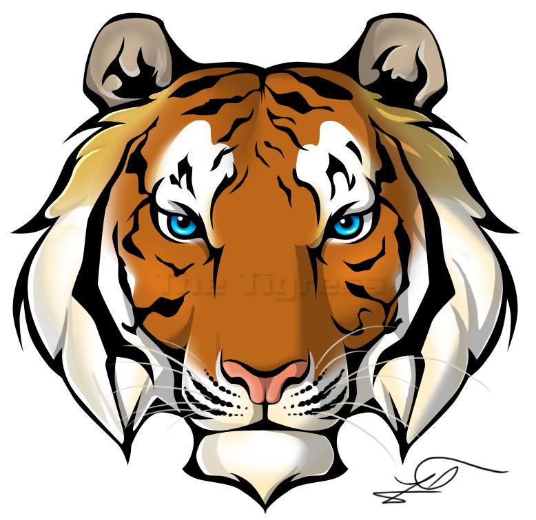 778x756 Tiger Face Clip Art Free Tiger Clipart 51