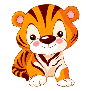 300x300 Free Baby Tiger Clipart Free Images