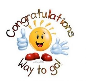 300x283 Strikingly Free Clip Art Congratulations Clipart Images 3