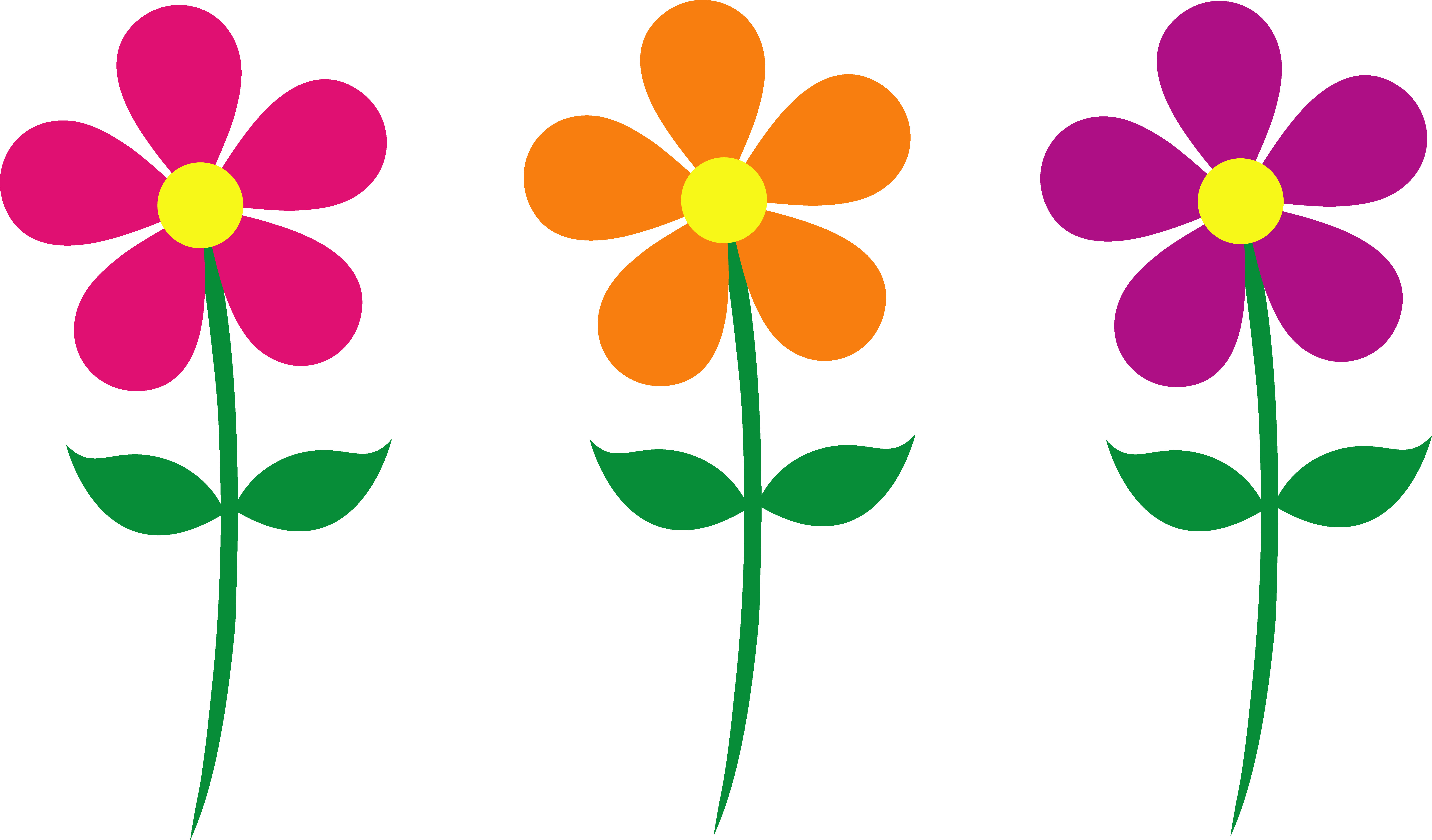 7747x4545 Cartoon Flowers Images Free Download Clip Art Ripping Pictures