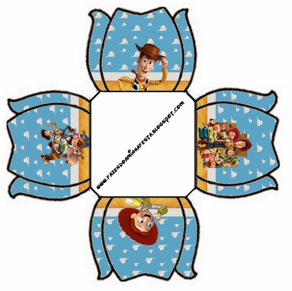 945x942 Toy Story 3 Free Printable Boxes. Oh My Fiesta! In English