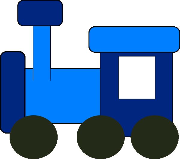 600x531 Locomotive Clipart Blue