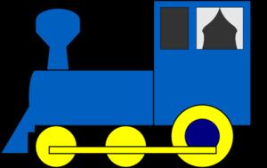 300x189 Simple Train Engine Clip Art