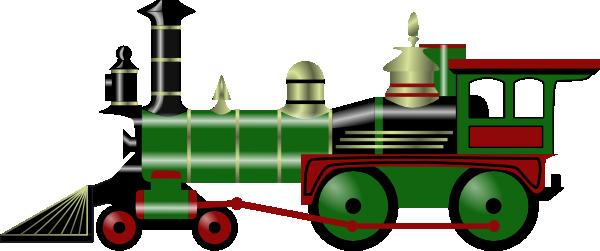 600x251 Train Clip Art Free Vector 4vector