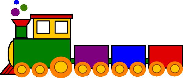 600x256 Cartoon Train Super Train Clip Art