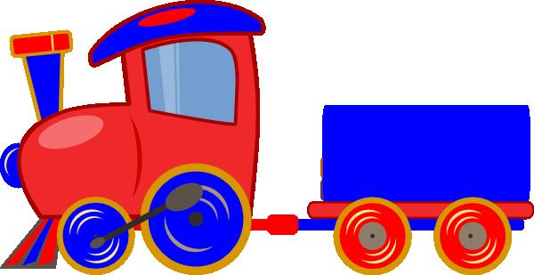 600x309 Cartoon Train Clipart Free