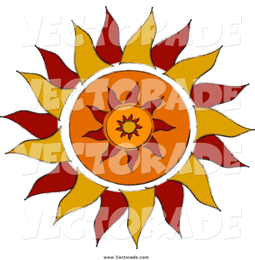 1024x1044 Free Tribal Sun Clipart