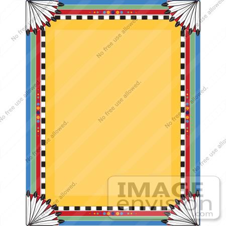 450x450 Native American Clipart Border