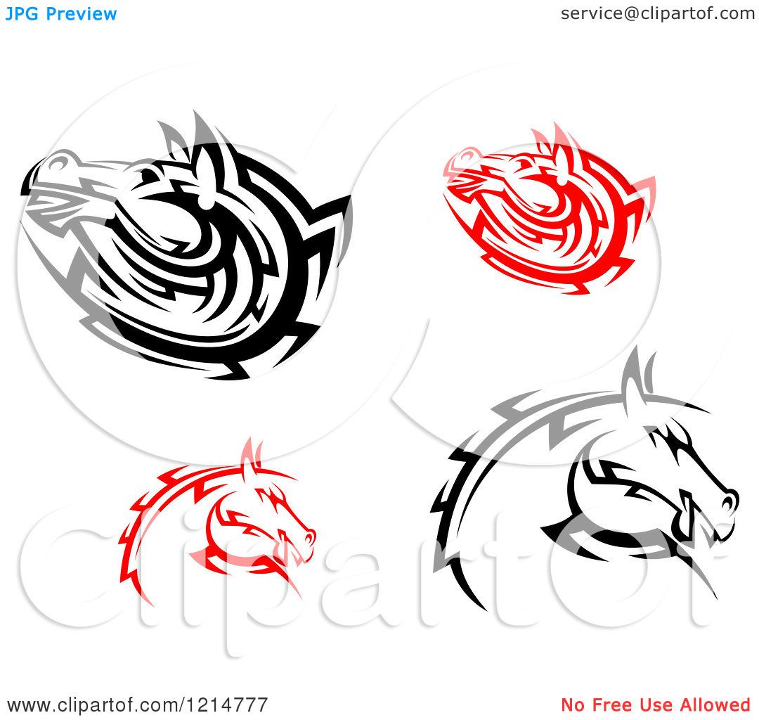 1080x1024 Tribal Horse Head Clip Art Clipart Panda