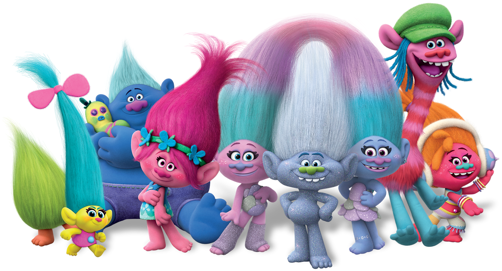 1600x865 Collection Of Trolls Clipart Transparent Background High
