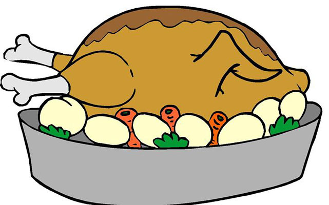 free turkey clipart thanksgiving at getdrawings com free for rh getdrawings com turkey dinner clipart images turkey dinner clipart black and white