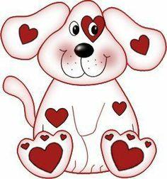 236x252 Clip Art Puppy Valentine Clipart