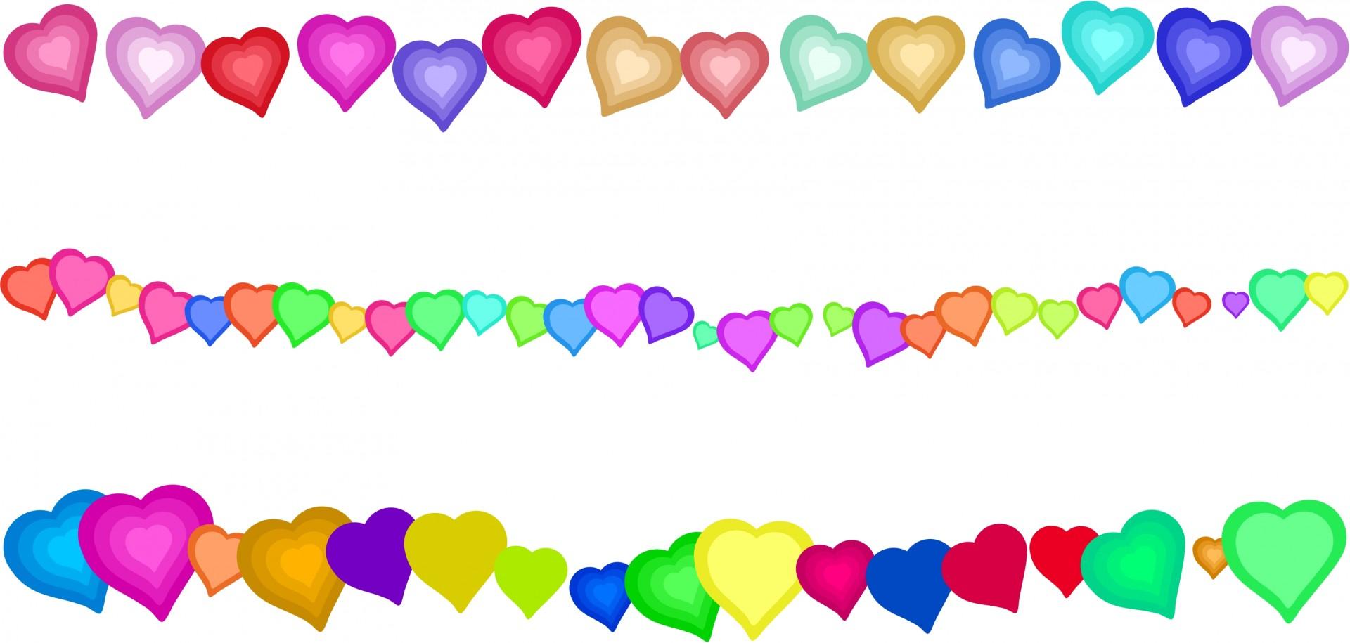 1920x915 Fascinating Heart Border Clip Art Edges Free Stock Photo Public
