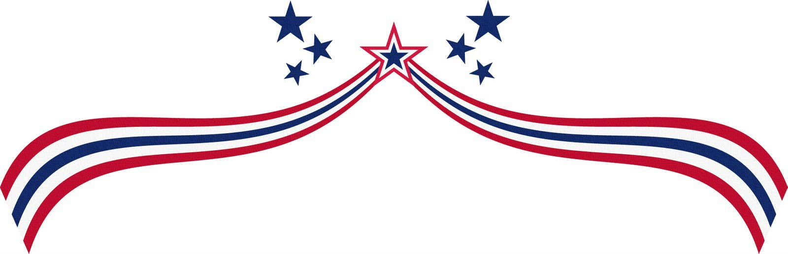 1600x517 Independence Day Clipart Free Border