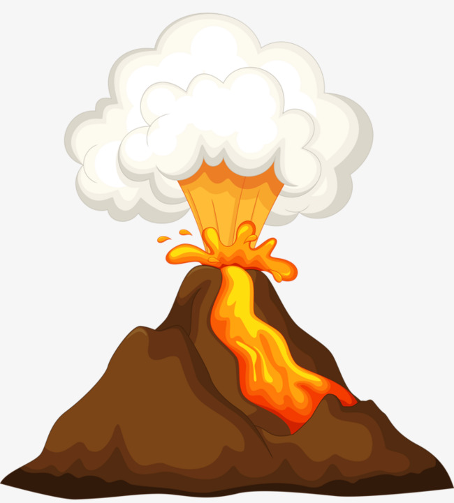 650x721 Volcano Clipart Free Volcanic Eruptions Break Out Volcanic Cartoon