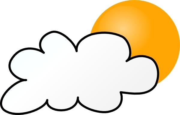 600x383 Cloudy Clipart