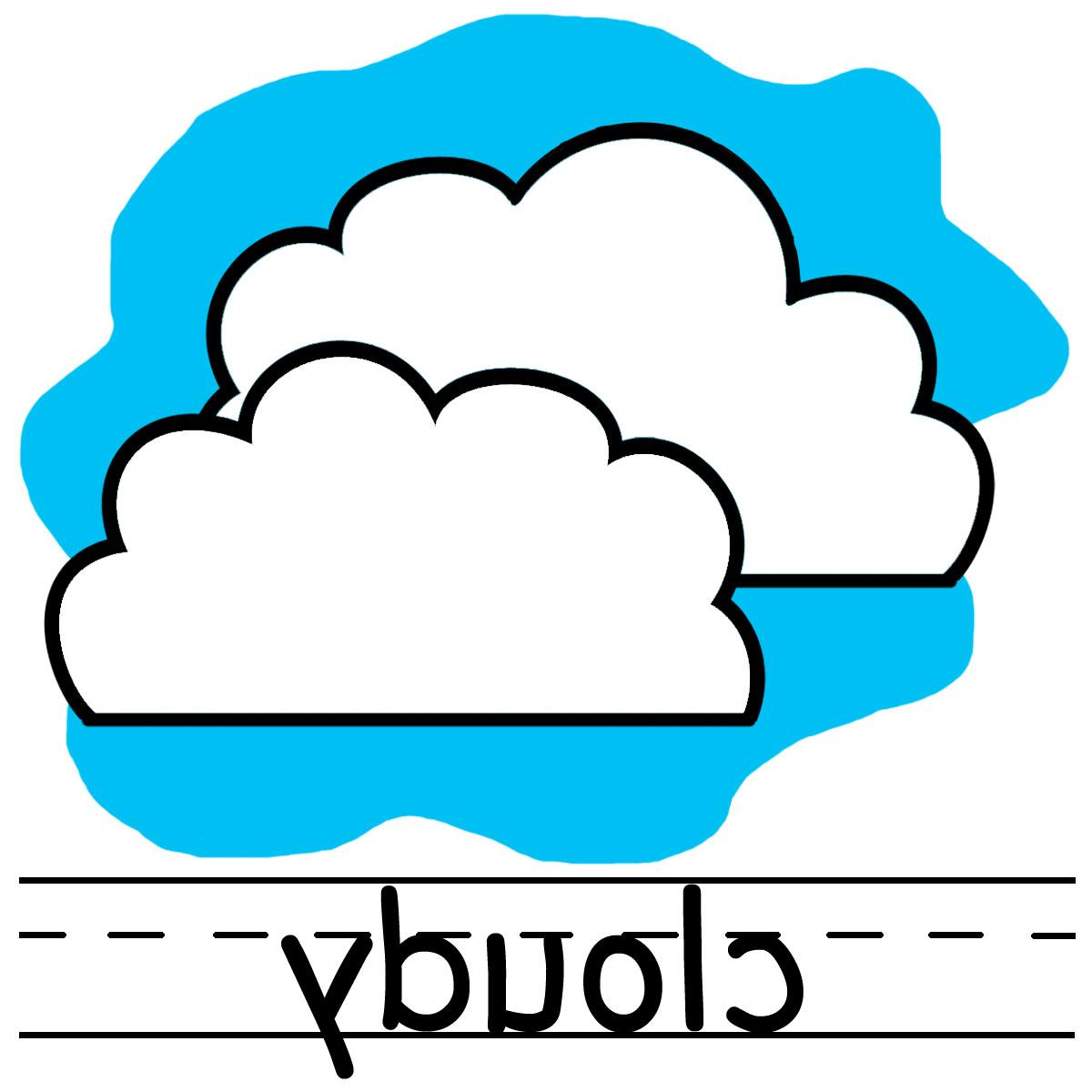1200x1200 Hd Cloudy Weather Clipart Free Images Drawing