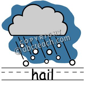 300x300 Hail Weather Clipart
