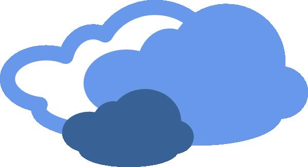 600x327 Heavy Clouds Weather Symbol Clip Art Free Vector 4vector