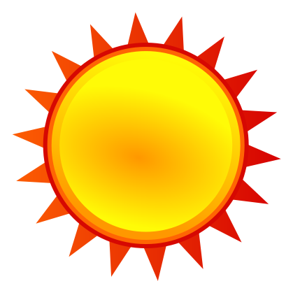 419x419 Pictures Of Sunny Weather Free Download Clip Art