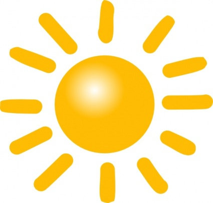 425x404 Weather Sunny Clip Art Free Clipart Images