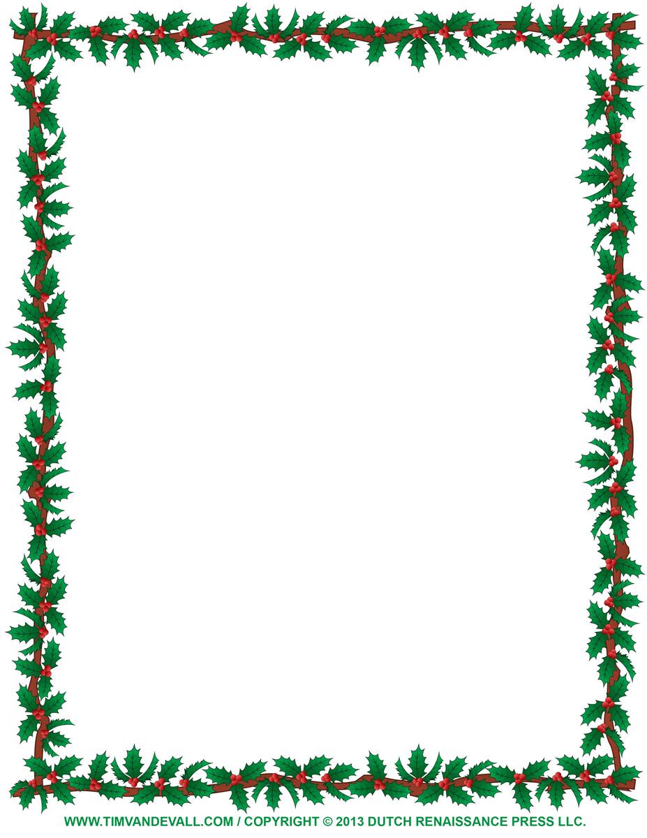 927x1200 Clip Art Clip Art Borders Christmas