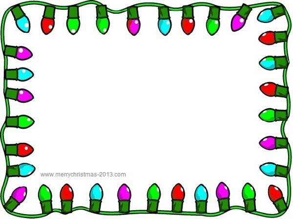 600x450 Christmas Clip Art Borders Free Printable Clipart Panda