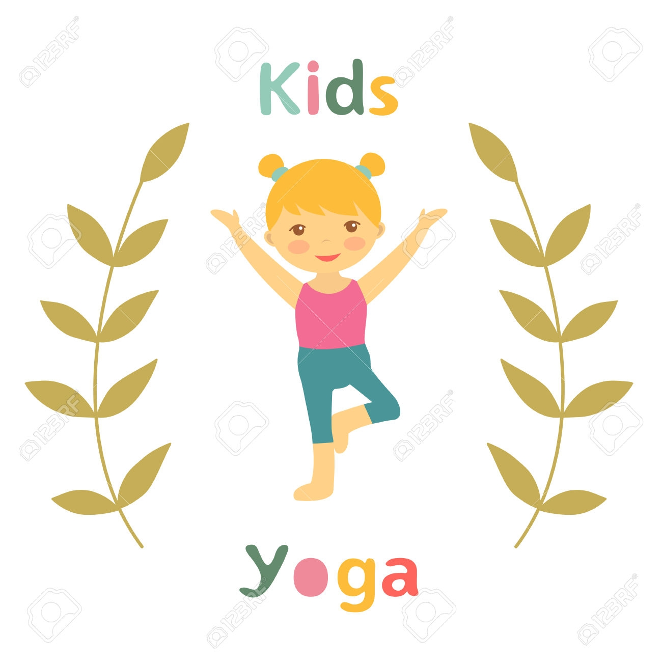 1300x1300 Yoga Clipart Kid Yoga