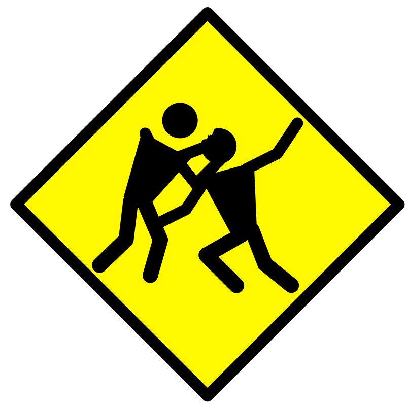 800x800 Free Clipart Zombie Warning Road Sign Bnielsen