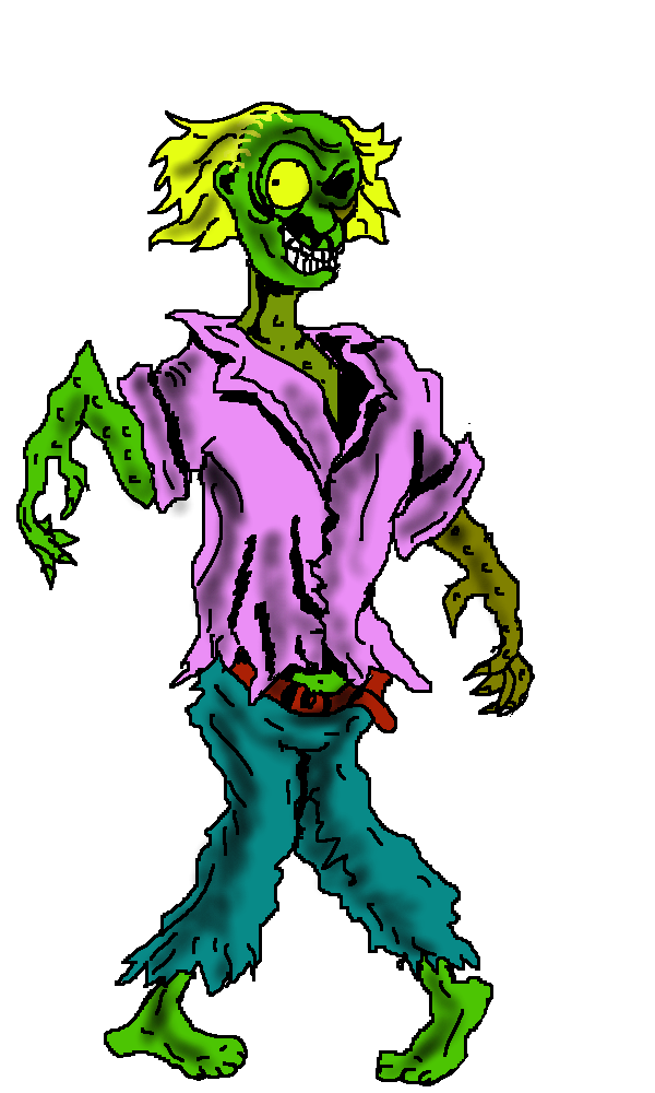 600x1000 Free Zombie Clip Art Pictures