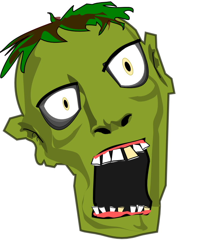 free zombie clipart at getdrawings com free for personal use free
