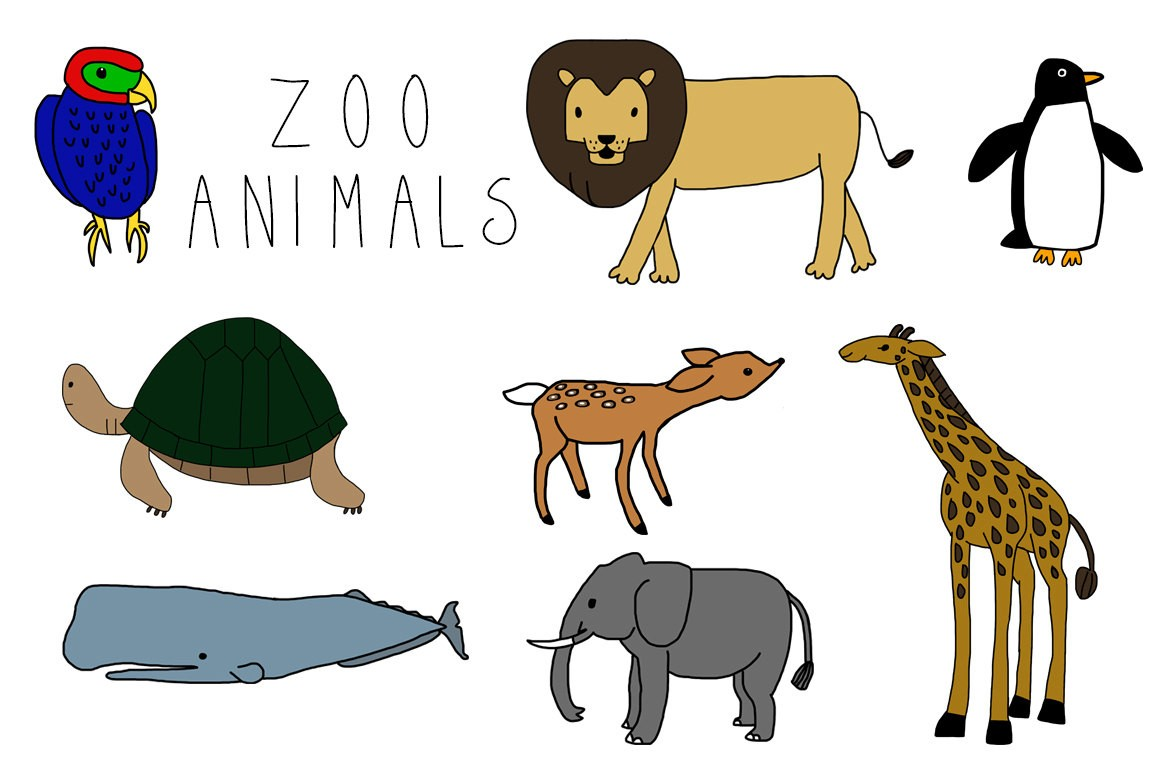 1160x772 Animal Clipart Zoo Animal Heads Clip Art Zoo Brilliant Animals