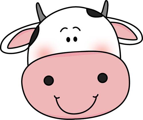 500x421 Cow Clipart