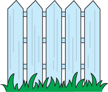 352x300 Zoo Clipart Fence