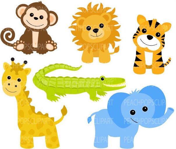 604x513 790 Best Clip Art Zoo Images Jungles, Painting