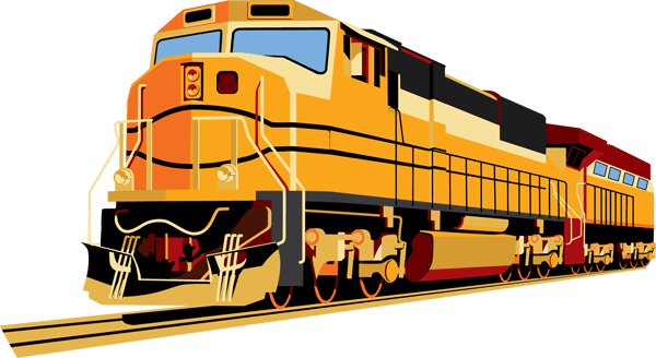 Freight Train Clipart