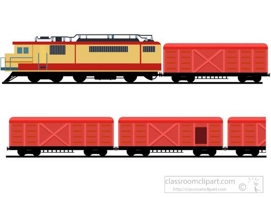 550x400 Train Clipart Freight Train Or Goods Train Clipart