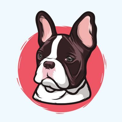 400x400 French Bulldog Clipart Amp French Awesome Bulldog
