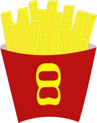 336x425 Free Download Of French Fries Clip Art Vector Graphic