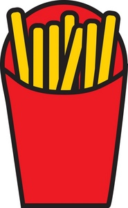 185x300 French Fry Clip Art Amp Look At French Fry Clip Art Clip Art Images